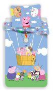 Pěkné bavlněné povlečení pro děti s prasátkem Peppa Pig | Povlečení Peppa Pig 001 140x200, 70x90 cm