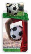 Dětské bavlněné povlečení fotbalového míče, fotbal | 1x 140/200, 1x 90/70