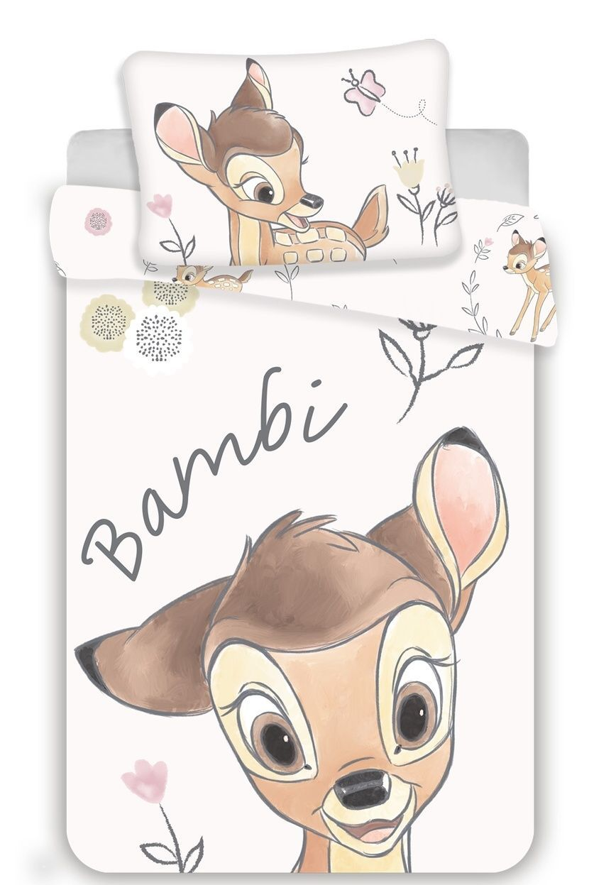 Disney povlečení do postýlky Bambi baby Jerry Fabrics