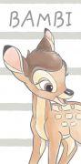 Dětská osuška Bambi   70/140