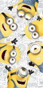 Dětská osuška Mimoni 2 Friends   70/140