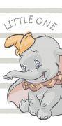 Dětská osuška s motivem slona Dumbo   70/140