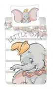 Bavlněné povlečení motiv slona Dumbo   1x 140/200, 1x 90/70