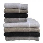 Kvalitní ručníky a osušky s vysokou savostí SPA 500 g/m2   1x 50/90 - béžová, 1x 50/90 - bílá , 1x 50/90 - světle šedá, 1x 50/90 - tmavě šedá, 1x 70/140 - béžová, 1x 70/140 - bílá, 1x 70/140 - světle šedá, 1x 70/140 - tmavě šedá