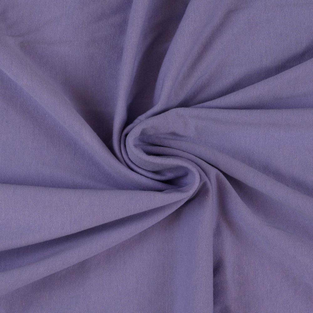 Napínací jersey prostěradlo světle fialové - různé rozměry Kvalitex