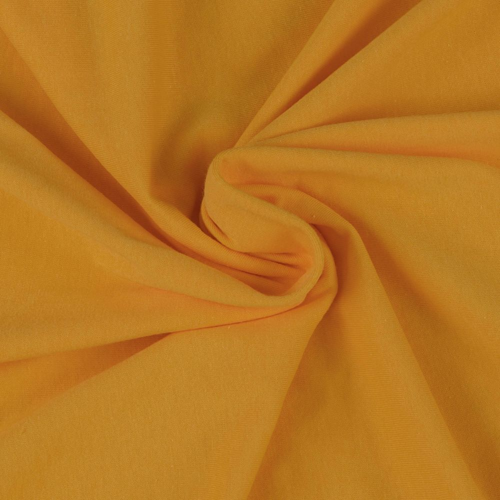 Napínací jersey prostěradlo sytě žluté - různé rozměry Kvalitex