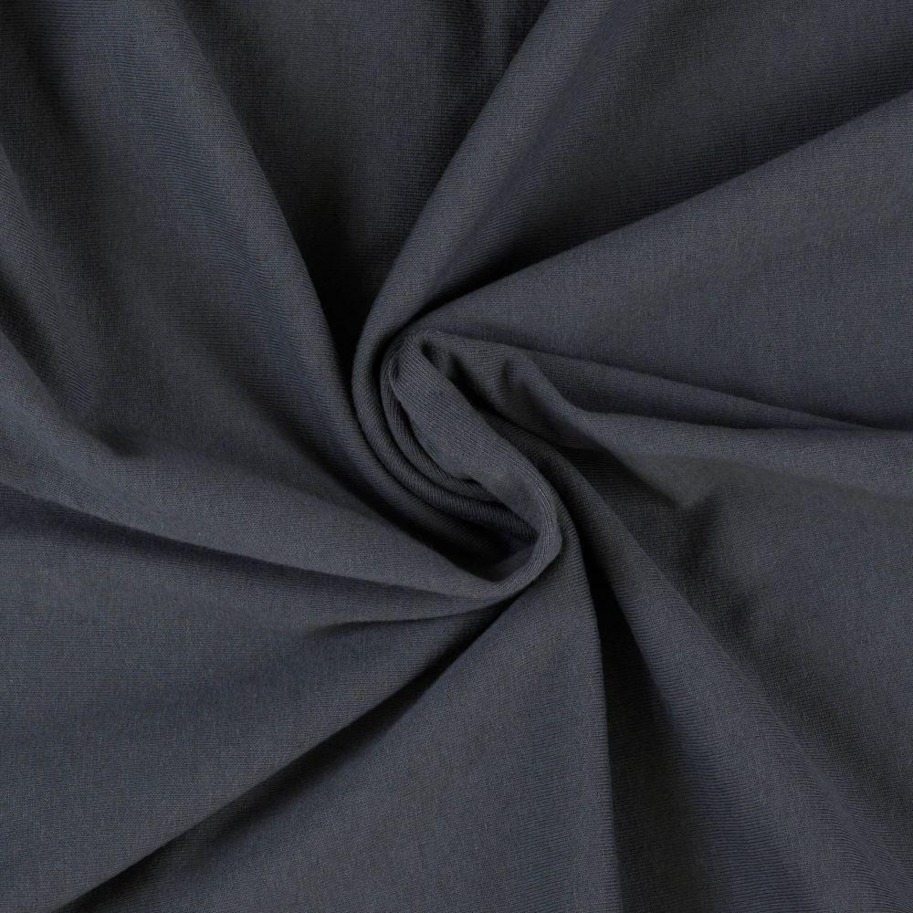 Napínací jersey prostěradlo tmavě šedé - různé rozměry Kvalitex