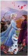 "Osuška Frozen 2 ""Wind"" 70x140 cm   Osuška Frozen 2 ""Wind"" 70x140 cm"