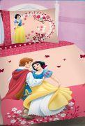 Růžové povlečení s motivem Sněhurky Jerry Fabrics