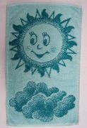 Dětský ručník - Sluníčko zelené