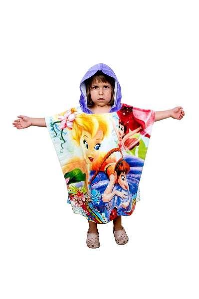Pončo či ručník na pláž s motivem Fairies Jerry Fabrics