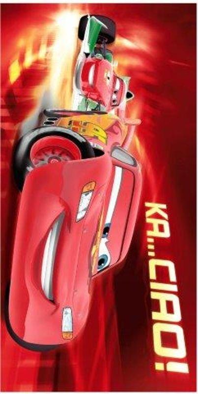 Osuška pro chlapce Cars ciao 2013 75x150 cm Jerry Fabrics