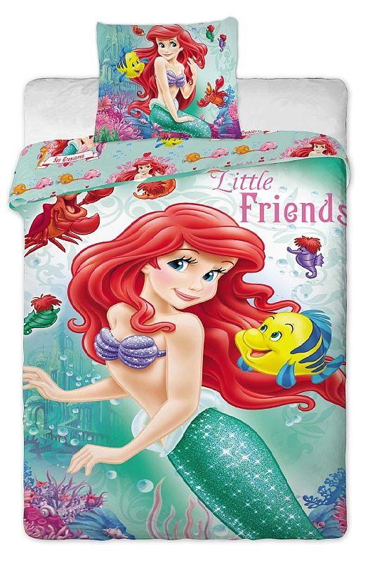 Dětské Disney povlečení Ariela 2014 Jerry Fabrics