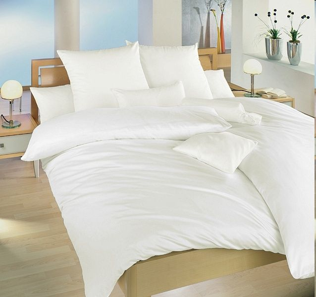 Jednobarevné povlečení bílé bavlna český výrobce