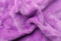 Prostěradlo z mikroflanelu (fialové) lila
