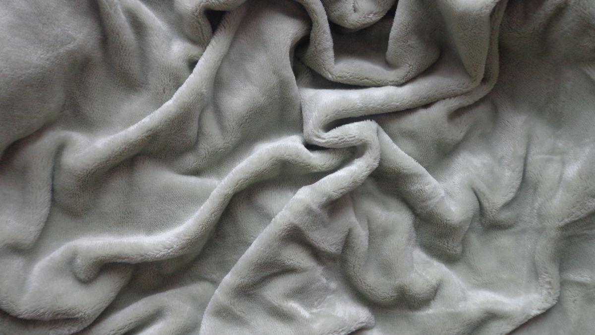 Mikroflanelové prostěradlo šedozelené 90x200,180x200