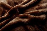 Prostěradlo mikroflanel - tmavě hnědé