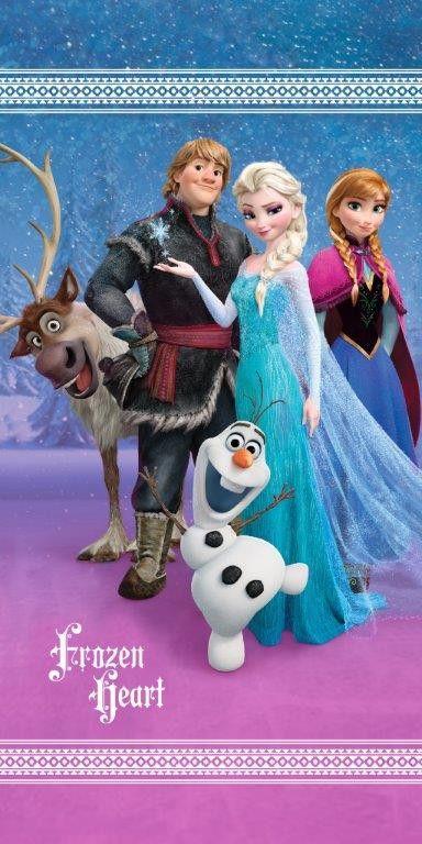 Dětská osuška Frozen - Ledové království Jerry Fabrics