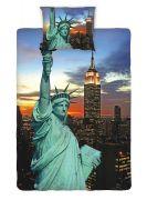 Bavlněné povlečení fototisk New York night Jerry Fabrics