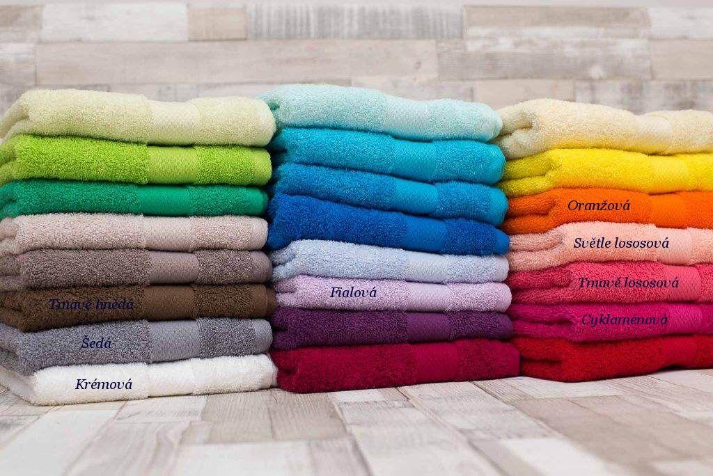Kvalitní ručník a osuška mnoho barev