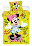 Bavlněné povlečení Minnie green Jerry Fabrics