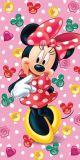 Dětská osuška Minnie růžová Jerry Fabrics