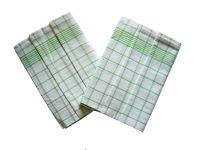 Utěrky Negativ bílá/zelená - 3 ks Svitap