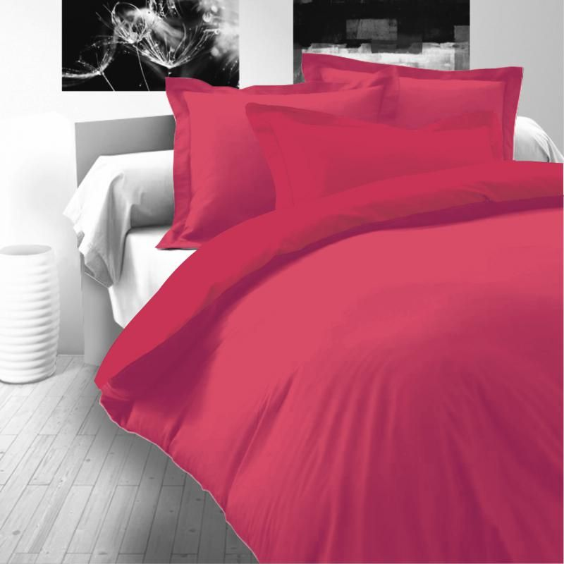 Saténové povlečení růžové luxusní Kvalitex