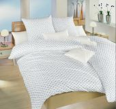Povlečení bavlna Růžičky modré 140x200, 70x90 II.jakost