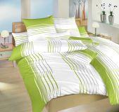 Povlečení bavlna Malorka kiwi 140x200, 70x90 II.jakost