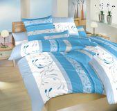 Povlečení bavlna Slezsko modré 140x200, 70x90 cm II.jakost