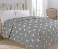 Přehoz na postel Star šedá 200x240 cm