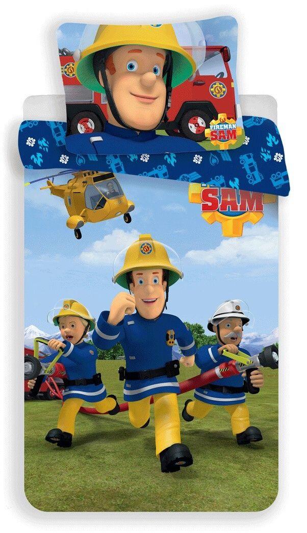 Bavlněné povlečení pro chlapce s požárníkem Samem Jerry Fabrics