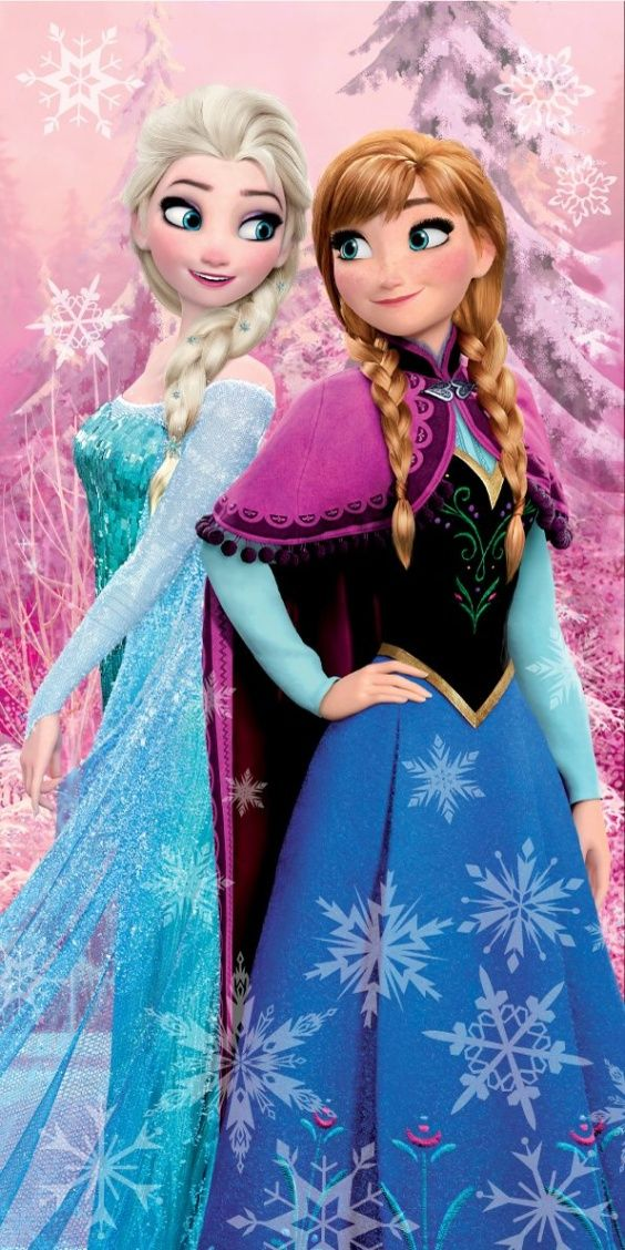 Pěkná dětská osuška s motivem Frozen - Ledové království Jerry Fabrics
