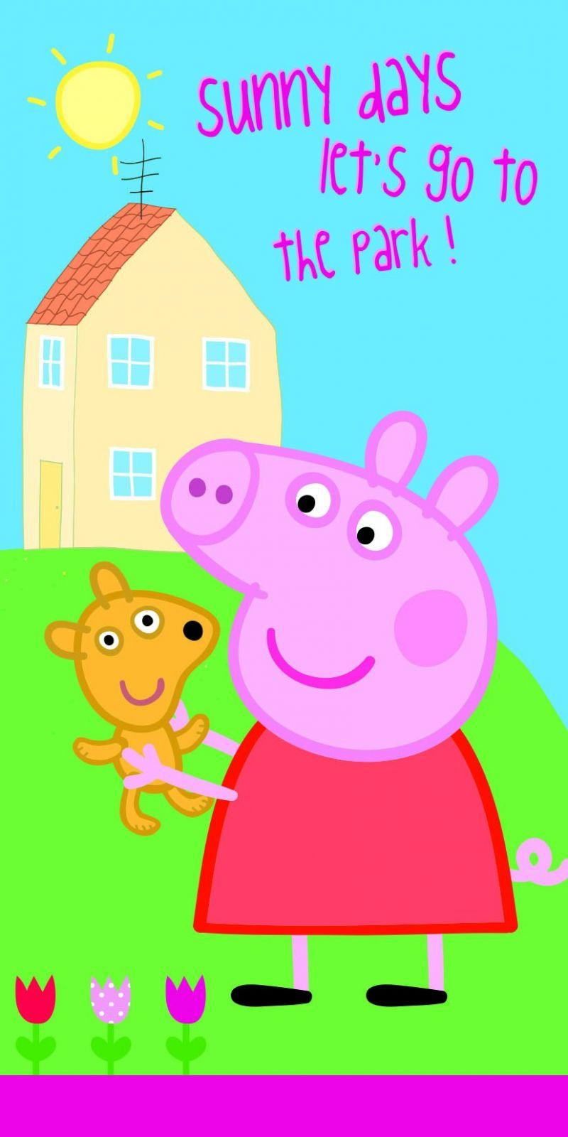 Pěkná dětská osuška Peppa Pig Jerry Fabrics