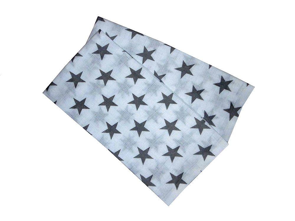 Pěkná šedá plenka pro děti s motivem hvězd PREM INTERNACIONAL