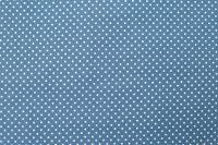 Krásný volánový povlak na polštářek MODRÝ PATCHWORK / puntík český výrobce