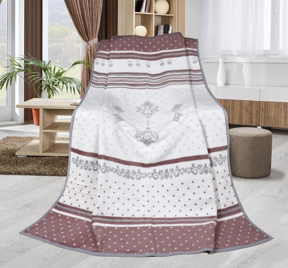 Pěkná hřejivá deka s orientálním vzorem