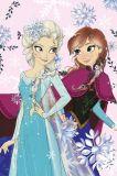 Dětská fleecová deka Frozen pastel