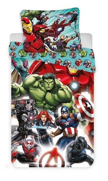 Pěkné bavlněné povlečení pro děti Avengers Comics Jerry Fabrics
