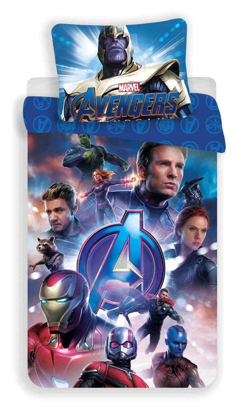 Pěkné bavlněné povlečení pro děti Avengers Endgame Jerry Fabrics