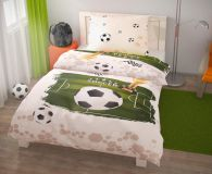 Ložní povlečení pro mladé Fotbal