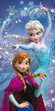 Osuška pro dívky Anny a Elzy, Frozen Jerry Fabrics