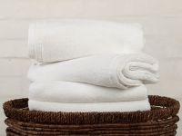 Kvalitní ručníky a osušky bílé barvy s 480 g/m2 Jerry Fabrics