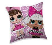Pěkný dětský polštářek LOL růžový Jerry Fabrics