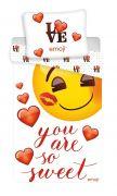 Bavlněné povlečení Emoji sweet Jerry Fabrics