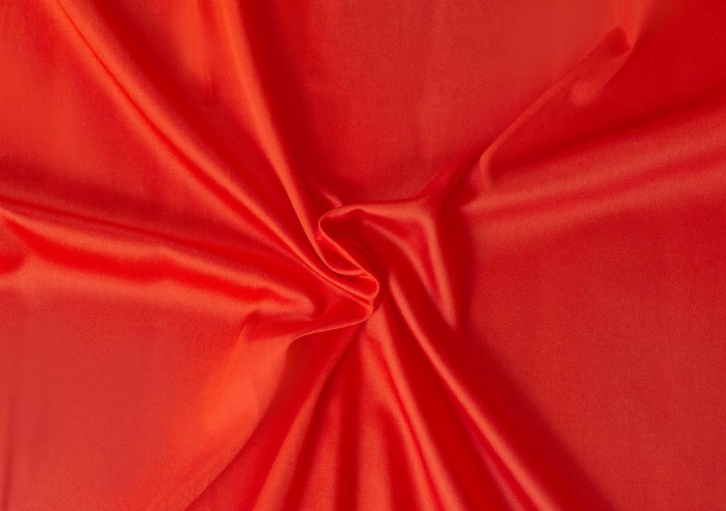 Červené saténové prostěradlo LUXURY COLLECTION Kvalitex