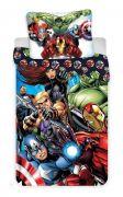 Chlapecké povlečení Avengers v bavlněném provedení   1x 140/200, 1x 90/70