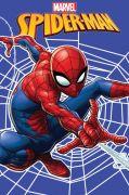 Dětská fleecová deka Spiderman na modrém podkladu | 100/150