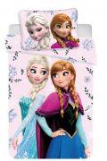 Pěkné dětské povlečení do postýlky Frozen baby Floral | Disney povlečení do postýlky Frozen baby Floral 100x135, 60x40 cm